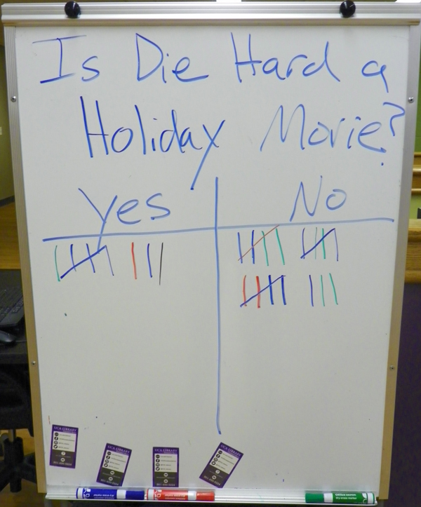 Example of a fun UCA whiteboard poll