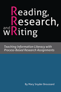Book cover: Reading, Research, and wRiting