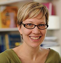 """Reframing the Framework for Social Justice"" presenter Laura Saunders."