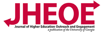 Journal of Higher Education Outreach and Engagement