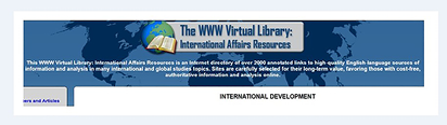 WWW Virtual Library: International Development
