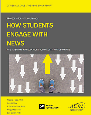"""""""How Students Engage with News"""""""