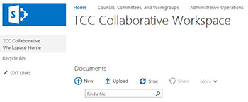 Tulsa Community College Collaborative Workspace.