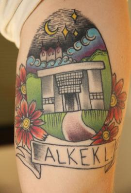 Winning design as a tattoo