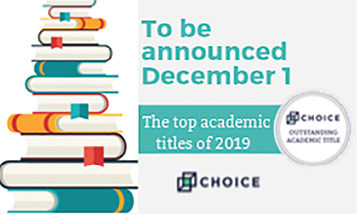 Choice Outstanding Academic Titles coming this December