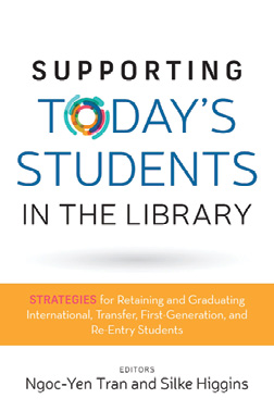 Book cover: Supporting Today's Students in the Library