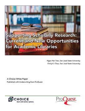 Paper cover: Supporting Scholarly Research