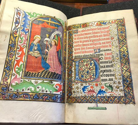 Book of hours, use of Rome, Northern France, and/or Bruges (between 1460 and 1470).