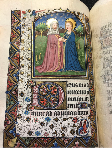 Book of hours, use of Rome, Northern France and/or Bruges (between 1460 and 1470).