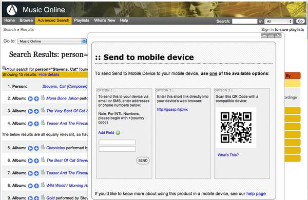 QR codes and academic libraries: Reaching mobile users