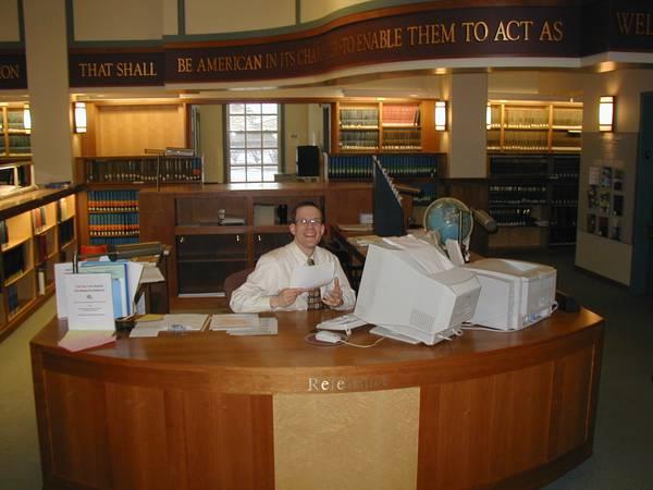 a reference desk