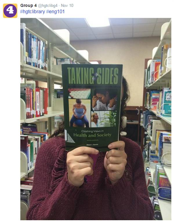 Shelfies Are Encouraged Simple Engaging Library Instruction With